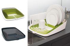 Expandable Silicone Dish Drainer by Joseph Joseph Kitchenware