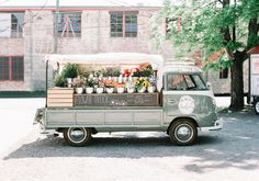 Amelia's Flower Truck art print