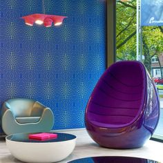 Karim Rashid was in charge of the interior design of the hotel, furnishing the 212 bedrooms, the restaurant area and the lounge.