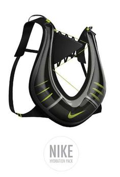 Reservoir Running Vests - The Nike Hydration Pack Decreases Thirst and Ups Your Visibility (GALLERY)