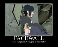BECAUSE A FACEPALM IS TOO MAINSTREAM
