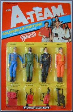 """a-team 3 3/4 galoob hannibal 