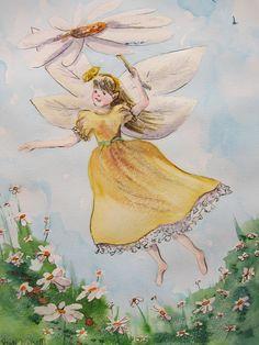 Fairy with Parasol by Heidi Eljarbo