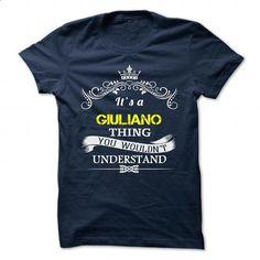 GIULIANO - #gift for friends #graduation gift. ORDER HERE => https://www.sunfrog.com/Camping/GIULIANO-109785243-Guys.html?60505