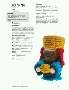 Pesebre crochet patron 3