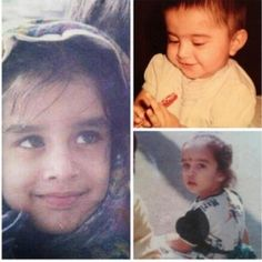Here are some childhood pictures of the cute and adorable Shraddha Kapoor. The Aashiqui 2 babe is currently working on Haider and The Villain.