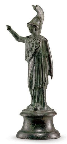 A ROMAN BRONZE MINERVA | CIRCA 1ST-2ND CENTURY A.D.