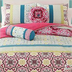 Moroccan Tile Twin Comforter Set