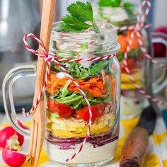 Mason Jar Salad Recipe! – Kayla Itsines