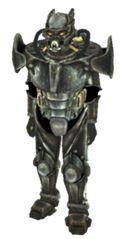 Enclave Soldier Fallout Power Armor, Fallout 3, Apocalypse, Dumb And Dumber, Lion Sculpture, War, Statue, Sculptures, Sculpture