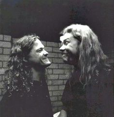 Jason Newsted & James Hetfield (Metallica)