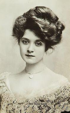 Mrs. Lovett inspiration: gibson girl hair - Google Search