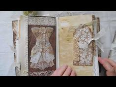 Frills And Old Lace Journal / New Etsy Items -Vintage and Crocheted - YouTube