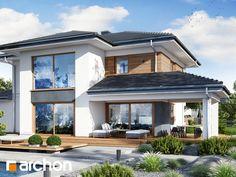Projekt domu Willa Miranda 7 (G2) - ARCHON+ Home Fashion, Modern Architecture, Cottage, Mansions, House Styles, Building, Outdoor Decor, Home Decor, Houses
