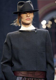 Chapeau Femme, Vestimentaire, Automne Hiver, Mode Femme, Toni Garrn, Anja  Rubik 2377a4c5fb0