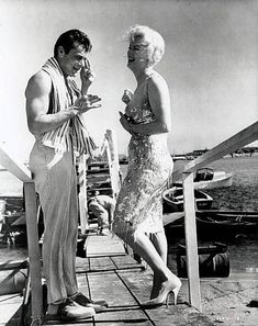 Marilyn and Tony Curtis ~ Some Like It Hot 1959