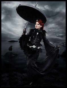 Rotes haar Gotisch
