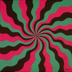 "Title: ""Twizzler"" - Original Acrylic on Canvas"