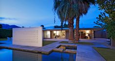 Walter S. White – Design for a Modernist Desert Residence – 73271 Buckboard Trail, Palm Desert