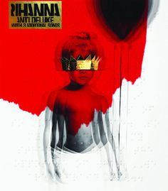 Rihanna's music and Anti (Deluxe Edition) has just enough meat on its bones to be worth the wait. Rihanna sounds as strong as I've heard her. Kid Ink, Rihanna Album Cover, Rihanna Albums, Drake Album Cover, Rihanna Work, Rihanna And Drake, Rihanna Music, Rock Posters, Vinyls