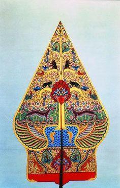 kayon_blumbangan_solo Surakarta, Cirebon, Javanese, Shadow Play, Shadow Puppets, Traditional Art, Fabric Material, Kyoto, Art Forms
