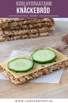 Low Carb Recipes, Snack Recipes, Healthy Recipes, Atkins, Low Carb Crackers, Go For It, Low Carb Lunch, Happy Foods, Low Carb Bread