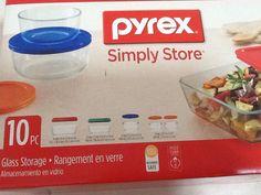 Pyrex 10 pc