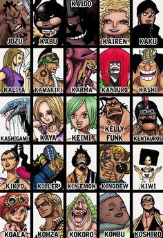 Personajes one piece 10