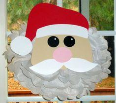 Santa Claus pom pom kit Santa by TheLittlePartyShopNY