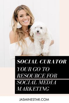 45 Social Curator With Jasmine Star Ideas In 2021 Social Media Content Calendar Social Media Social Media Content