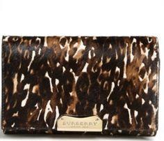 Burberry Leopard print handbag