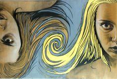 Gemini, painting made by Daniele Denaro (Atelier Ovunque)