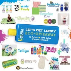 Let's get loopy! Check out this Eco Giveaway featuring amazing eco-friendly products for the family and there's a secret giveaway and reward message that will pop up once you enter. #gogreen #rockthelocks