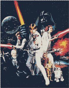 Classic Star Wars Characters Handmade PDF by BellaStitcheryDesign