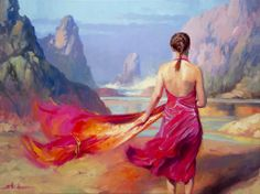 Steve Henderson, 1957 ~ Realismo / pintor impresionista