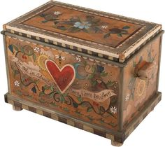 Painted mobilia Home Design Ideas Painted Trunk, Painted Wooden Boxes, Painted Chest, Painting Wooden Furniture, Wood Furniture, Antique Furniture, Modern Furniture, Outdoor Furniture, White Furniture