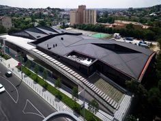 Centro Desportivo Csörsz / T2.a Architects