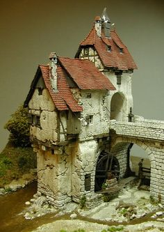 1 million+ Stunning Free Images to Use Anywhere Warhammer Terrain, Medieval Houses, Wargaming Terrain, Modelos 3d, Fantasy House, Miniature Houses, Miniature Dolls, Fairy Houses, Small World