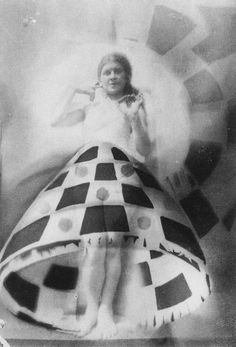 Domicelės Tarabildienė - Photomontage with Lillian Roth skirt, 1932  Also