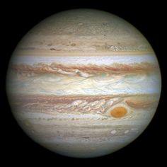 imagem de Júpiter foi tirada em 21 de abril de 2014 com a Wide Field Camera 3 do Hubble Crédito: Crédito de imagem: NASA, ESA e A. Cosmos, Nasa, Axial Tilt, Great Red Spot, Jupiter Planet, Gas Giant, Zika Virus, Closer To The Sun, Astronomy