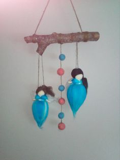 This item is unavailable Hanging Mobile, Ireland, My Etsy Shop, Felt, Angel, Trending Outfits, Unique Jewelry, Handmade Gifts, Check