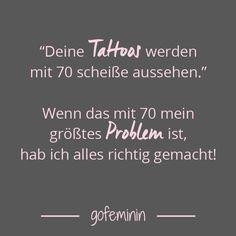Leben und leben lassen, nicht? ^^ ;) Lieber 100 mit Tattoos als einen mit Weihrauchschleuder! ©Al