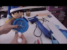 Fofureloj parte 2 - YouTube Foam Crafts, Diy And Crafts, Ideas Para, Projects To Try, Floral, Youtube, Craftsman Clocks, Craft Videos, Creative Crafts