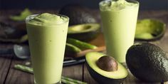 Creamy avocado and refreshing mint are the two magic ingredients in this green smoothie. It's a super healthy snack you'll want to add to your routine.
