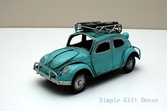 Metal Vintage Car model Blue 1017 Vintage Cars, Antique Cars, Route 66, Diecast, Antiques, Metal, Vehicles, Blue, Antiquities