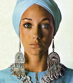 Marisa Berenson.  Vogue Patterns, 1970.