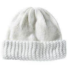 $14.99 Solid Knit Beanie - Cream
