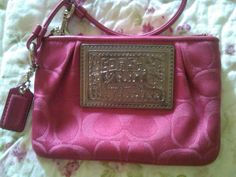Pink Coach Poppy :)