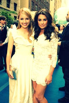 Dianna Agron & Lea Michele...best friends to the end