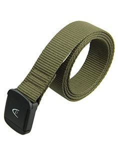Rockway Ecofriend Polyester Thread with Strong YKK POM Buckle Khaki Lightness Belt Large >>> Find out more about the great product at the image link.